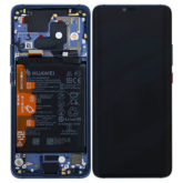 Genuine HUAWEI Mate 20 Pro LCD Screen & Touch Digitiser With Frame & Battery - Blue