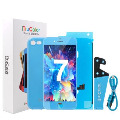 iTruColor Colorful Series High Colour Premium ESR LCD Screen Digitiser – Blue For iPhone 7