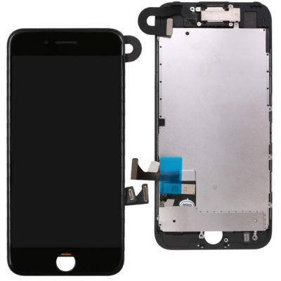 iPhone 7 LCD Screen & Touch Digitiser Full Assembly With Front Camera – Black