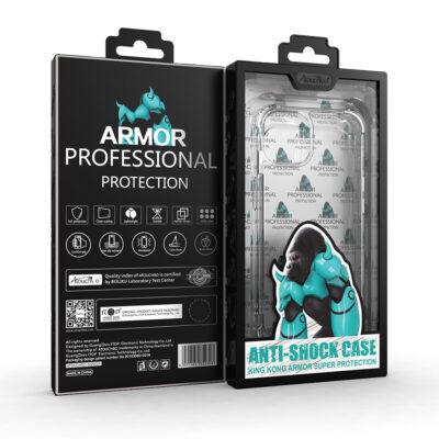 Atouchbo Genuine Anti-Shock King Kong Super Protection Shockproof TPU Gel Case – iPhone 13 Series
