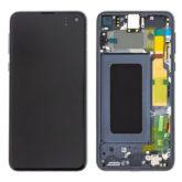 Genuine Samsung G970 Galaxy S10e LCD Screen & Touch Digitiser - Black