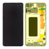 Genuine Samsung G970 Galaxy S10e LCD Screen & Touch Digitiser - Canary Yellow