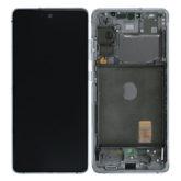 Genuine Samsung G781 Galaxy S20 FE 5G LCD Screen & Touch Digitiser - Cloud White