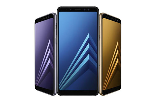 Samsung launch the A8 and A8 Plus