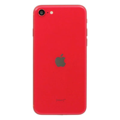 Genuine iPhone SE 2020 Rear Housing With Parts – Red – 14 Day