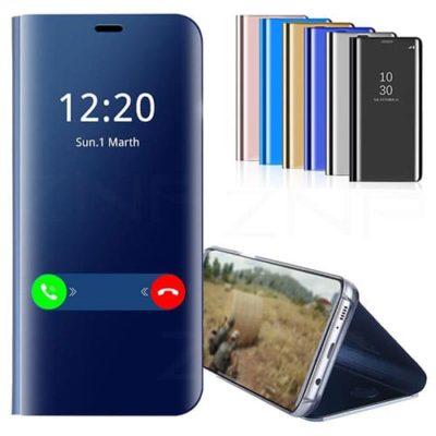 Smart-Mirror-Flip-Phone-Case-For-Samsung-S10E-S10-Lite-S9-S8-Plus-S7-Edge-Stand