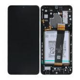 Genuine Samsung A326B Galaxy A32 5G LCD Screen & Touch Digitiser On Frame
