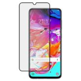 Samsung Galaxy A70 9H Full Glue Tempered Glass Screen Protector