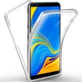 Samsung A750F Galaxy A7 2018 360º PC & TPU Full Case With Protective Screen Cover