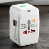 All-in-One Universal World Travel Adapter With USB