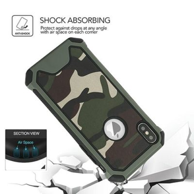 iPhone Camo / Camouflage Design Heavy Duty Shockproof Case