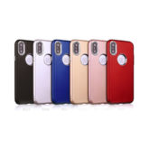 iPhone X Ultra Thin Soft Feel Case With Chrome Effect