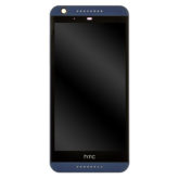 Genuine HTC Desire 626 LCD Screen & Touch Digitiser With Frame - Blue