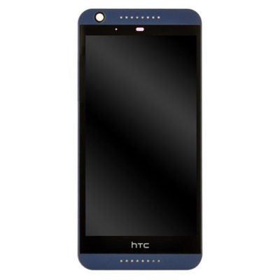 Genuine HTC Desire 626 LCD Screen & Touch Digitiser With Frame – Blue