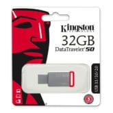 Kingston DataTraveler 50 32GB USB 3.0 Flash Stick Pen Memory Drive