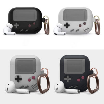 Apple AirPods Gameboy Style Silicone Case Protective Cover With Buckle