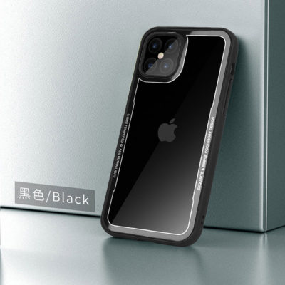 G-Case iPhone 12 Series Crystal Series Glass Premium Case – Black