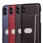 G-Case Jazz Series Premium PU Leather Case With Card Slot - iPhone X / XS