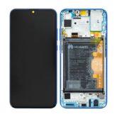 Genuine Honor 20 Lite LCD Screen & Touch Digitiser With Frame & Battery - 14 Day - Phantom Blue