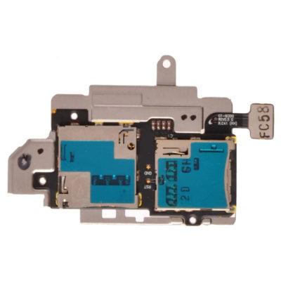 Samsung i9300 Galaxy S3 Sim & Memory Card Reader Flex Cable