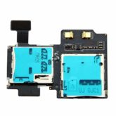 Samsung i9505 Galaxy S4 Sim & Memory Card Reader Flex Cable