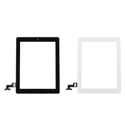 iPad 2 Replacement Glass Touchscreen Digitizer With Home Button & Flex Cable