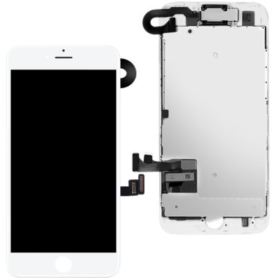 iPhone 7 LCD Screen & Touch Digitiser Full Assembly With Front Camera – White