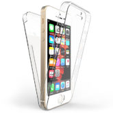 iPhone SE / 5 / 5s 360° Ultra Thin Shockproof TPU Gel Protective Case