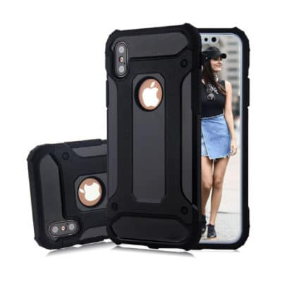 iPhone X Tough Armour Shockproof Case