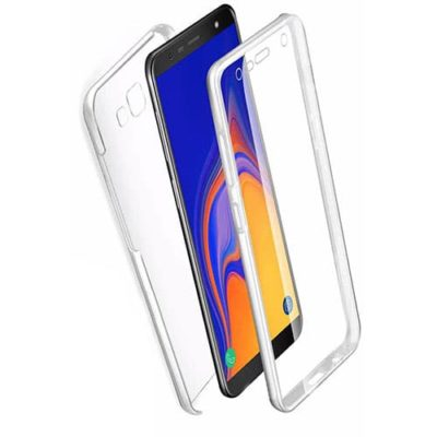 Samsung Galaxy J4 Plus 2018 360º PC & TPU Full Case With Protective Screen Cover
