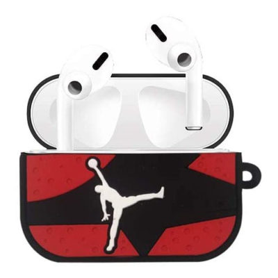 Apple AirPods Pro Jordan Silicone Case Protective Cover With Buckle