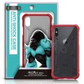 iPhone X King Kong Armor Shockproof Transparent Back Cover