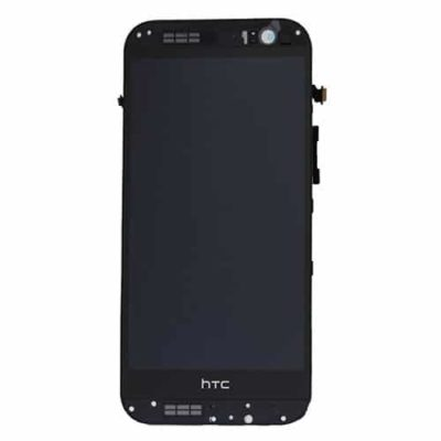 Genuine HTC One M8 LCD Screen & Touch Digitiser With Frame – Black