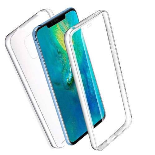 Huawei Mate 20 Pro 360º PC & TPU Full Case With Protective Screen Cover