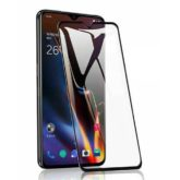 OnePlus 7 Case Friendly Full Tempered Glass Screen Protector