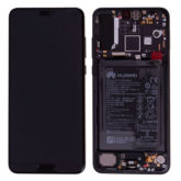Genuine Huawei P20 Pro LCD Screen & Touch Digitiser With Frame & Battery - 14 Day