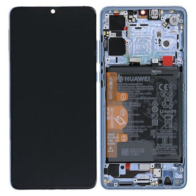 Genuine Huawei P30 LCD Screen & Touch Digitiser With Frame & Battery