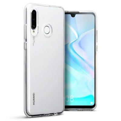Huawei P30 Lite Ultra Thin Clear TPU Gel Case