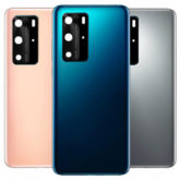 Huawei P40 Pro Rear Back Glass Battery Cover With Camera Lens