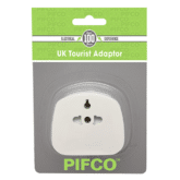 Pifco Tourist Adaptor EU / US to 3 Pin UK