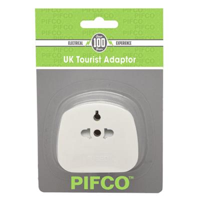 Pifco Tourist Adaptor EU / US to 3 Pin UK