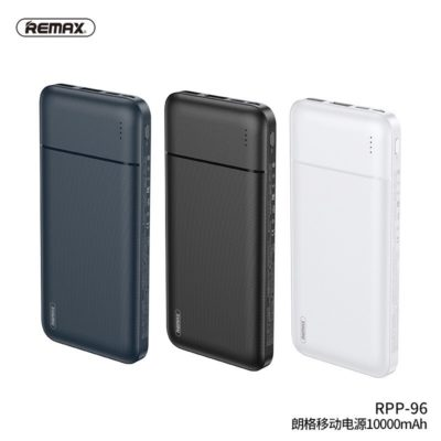 REMAX RPP-96 10000mAh Twin USB Portable Power Bank Charger