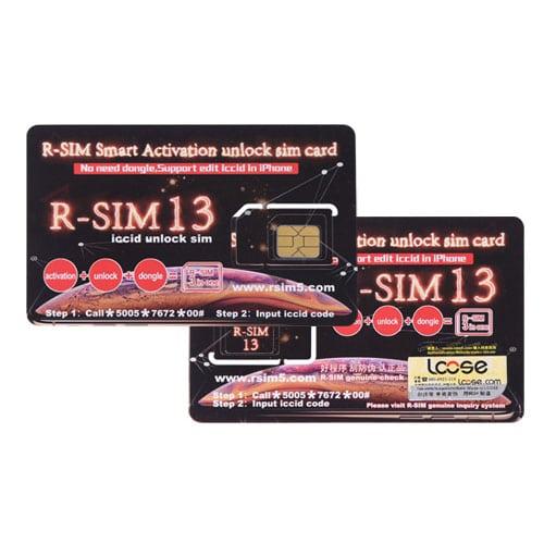 R-Sim 13 Smart iPhone Activation / Unlock SIM Card