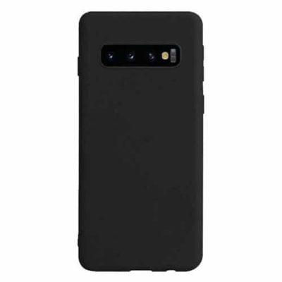 Samsung Galaxy S10 5G Slim Fitting Matte Black TPU Gel Case