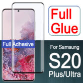Samsung Galaxy S20 / Plus / Ultra 9H Full Glue Tempered Glass Screen Protector