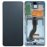 Genuine Samsung G985 Galaxy S20 Plus 5G LCD Screen & Touch Digitiser - Cloud Blue