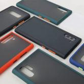 Samsung Frosted Matte Transparent Hard Back Case