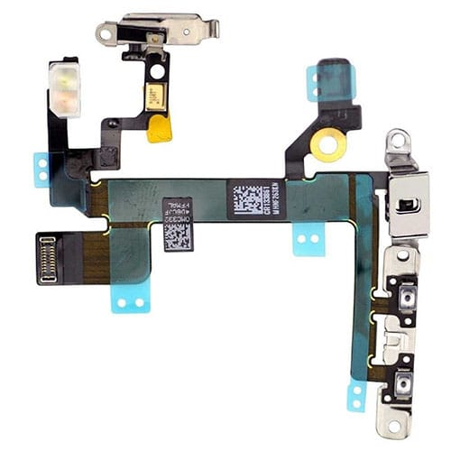 iPhone SE Power /  Volume / Mute Button Flex Cable With Brackets