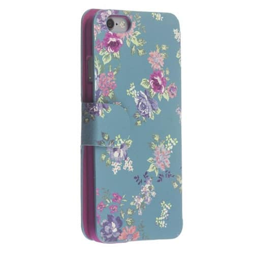 iPhone 6 / 6s Trendz Floral Folio Wallet Protective Case Cover