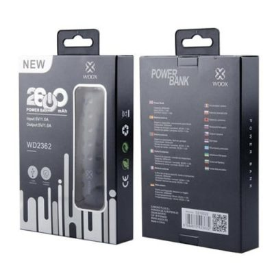 Woox WD2362 2600mAh Portable USB Charger Power Bank